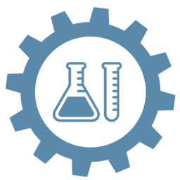 Life sciences gear icon