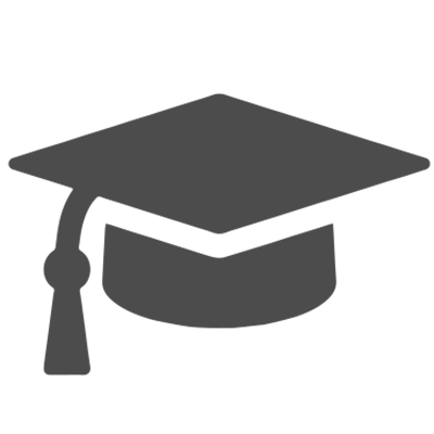 Education hat icon