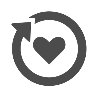 Healty futures heart icon