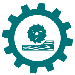 Wood products gear icon
