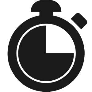 Internship stopwatch icon