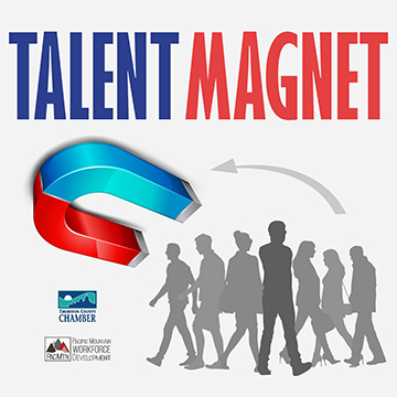 Talent Magnet logo Thurston Chamber